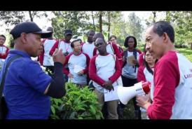 Embedded thumbnail for Training on Landscape Governance Assesment